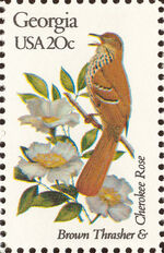 United States of America 1982 State birds and flowers i