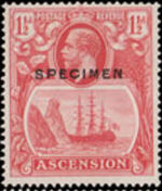 Ascension 1924 Seal of the Colony o