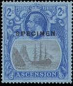 Ascension 1924 Seal of the Colony w