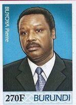 Burundi 2012 Presidents of Burundi - Pierre Buyoya e