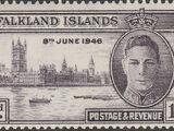 Falkland Islands 1946 Peace Issue