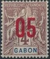 Gabon 1912 Navigation and Commerce Surcharged b.jpg