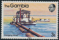 Gambia 1983 River Boats c
