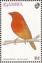 Gambia 1993 Birds of Africa d