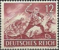 Germany-Third Reich 1943 Armed Forces and Heroes Day f