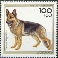 Germany-Unified 1995 Dogs c