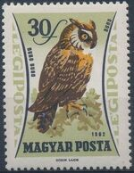 Hungary 1962 65th Anniversary of the Agricultural Museum - Birds of Prey a