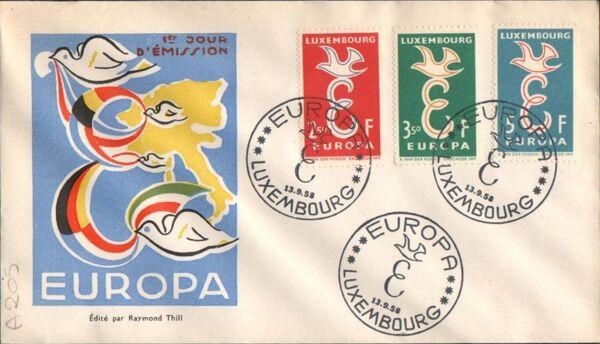Luxembourg 1958 Europa n