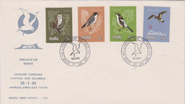 Malta 1981 Birds w
