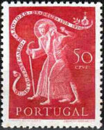 Portugal 1950 400th anniversary of the death of St. John of God b