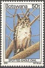Botswana 1978 Birds of Botswana n