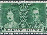 Falkland Islands 1937 George VI Coronation