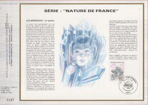 France 1986 Minerals FOLf