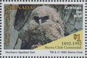 Grenada Grenadines 1995 100th Anniversary of Sierra Club - Endangered Species c