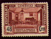 Portugal 1925 Birth Centenary of Camilo Castelo Branco o
