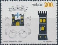 Portugal 1997 Arms of the Districts of Portugal f