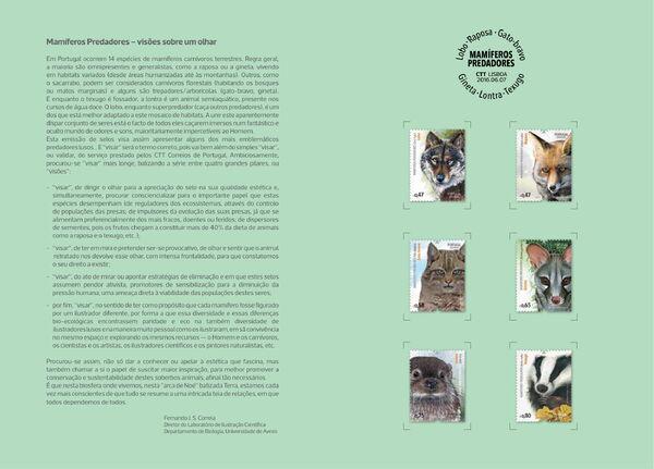 Portugal 2016 Portuguese Mammalian Predators IOPb