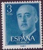 Spain 1955 General Franco m
