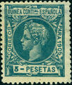 Spanish Guinea 1905 Alfonso XIII m.jpg