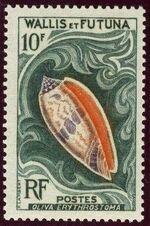 Wallis and Futuna 1962 Sea Shells e