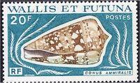 Wallis and Futuna 1976 Sea Shells a
