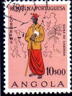 Angola 1957 Indigenous Peoples of Angola l