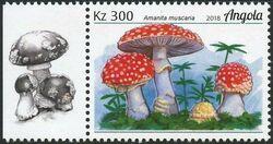 Angola 2018 Wildlife of Angola - Mushrooms d