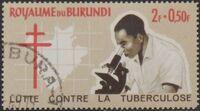 Burundi 1965 Fight Against Tuberculosis a