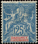 Dahomey 1900 Navigation and Commerce c