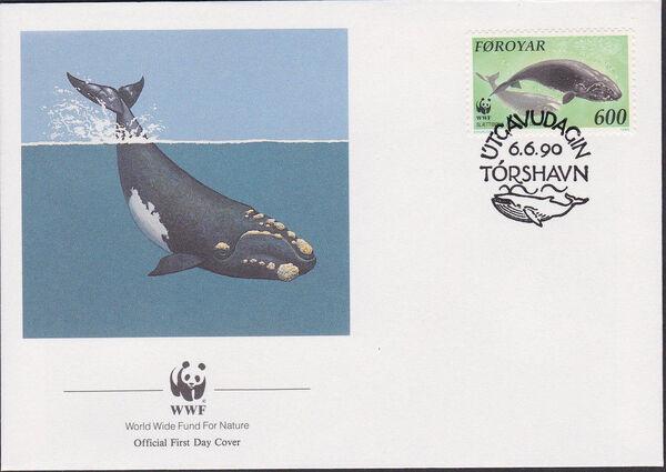 Faroe Islands 1990 WWF - Whales j