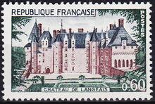 France 1968 Chateau de Langeais a