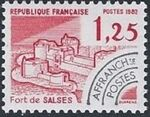 France 1982 Historic Monuments - Pre-cancelled (4th Issue) b