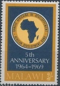 Malawi 1969 Anniversary of African Development Bank d