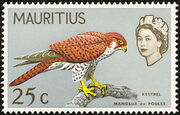 Mauritius 1965 Birds in Natural Colors h