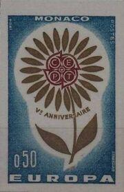 Monaco 1964 Europa bb