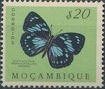 Mozambique 1953 Butterflies and Moths c