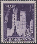Poland-General Government 1940 Buildings (1st Group) k
