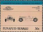 Tuvalu-Funafuti 1985 Leaders of the World - Auto 100 (2nd Group) g