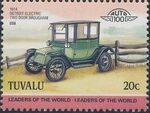 Tuvalu 1985 Leaders of the World - Auto 100 (2nd Group) h