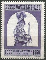 Vatican City 1956 450th Anniversary of the Swiss Papal Guard e
