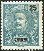 Zambezia 1898 D. Carlos I f