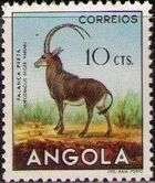 Angola 1953 Animals from Angola c