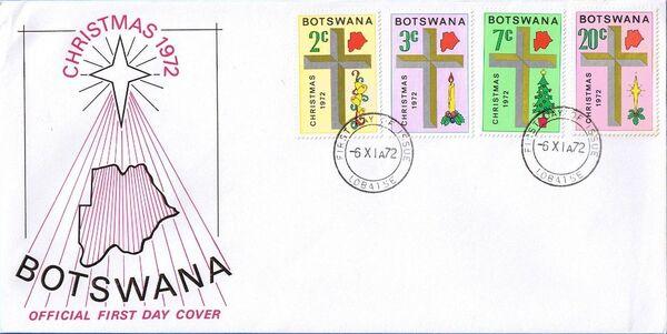 Botswana 1972 Christmas x