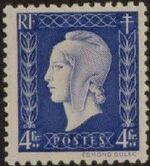 France 1945 Marianne de Dulac (2nd Issue) m