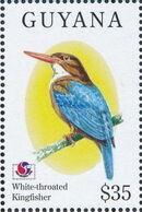 Guyana 1994 Birds of the World (PHILAKOREA '94) o