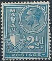 Malta 1926 King George V and Coat of Arms f.jpg