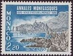Monaco 1986 10th Anniversary of the Publication of Annales Monegasques a