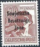 Russian Zone 1948 Overprint - Sowjetische Besatzungs Zone o
