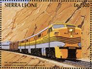 Sierra Leone 1995 Railways of the World n