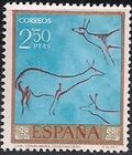 Spain 1967 - Wall Paintings from Paleolithic and Mesolithic Found in Spanish Caves g